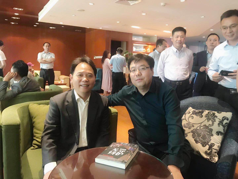 与徐昕老师合影,无罪辩护联盟论坛